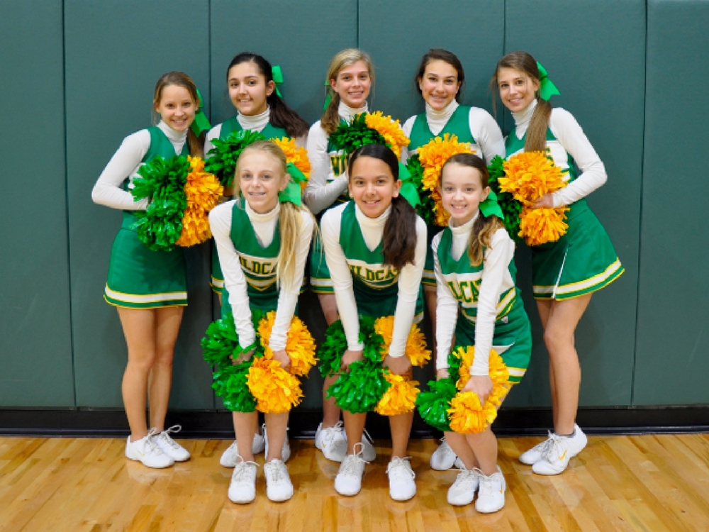 Group of cheerleaders
