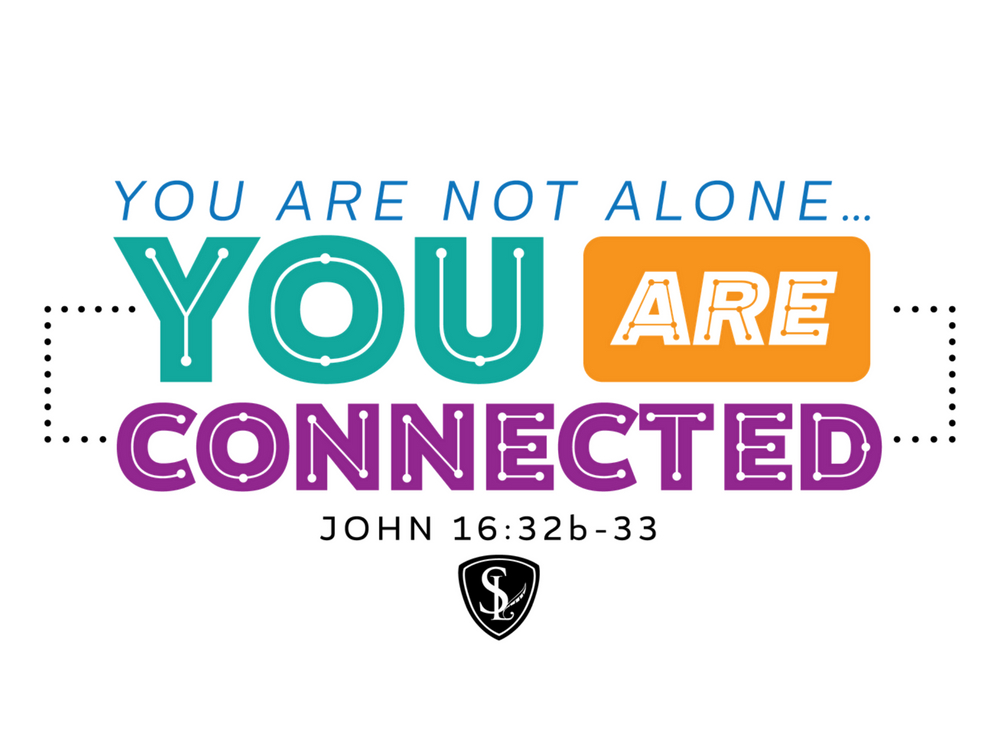 You Are Not Alone banner