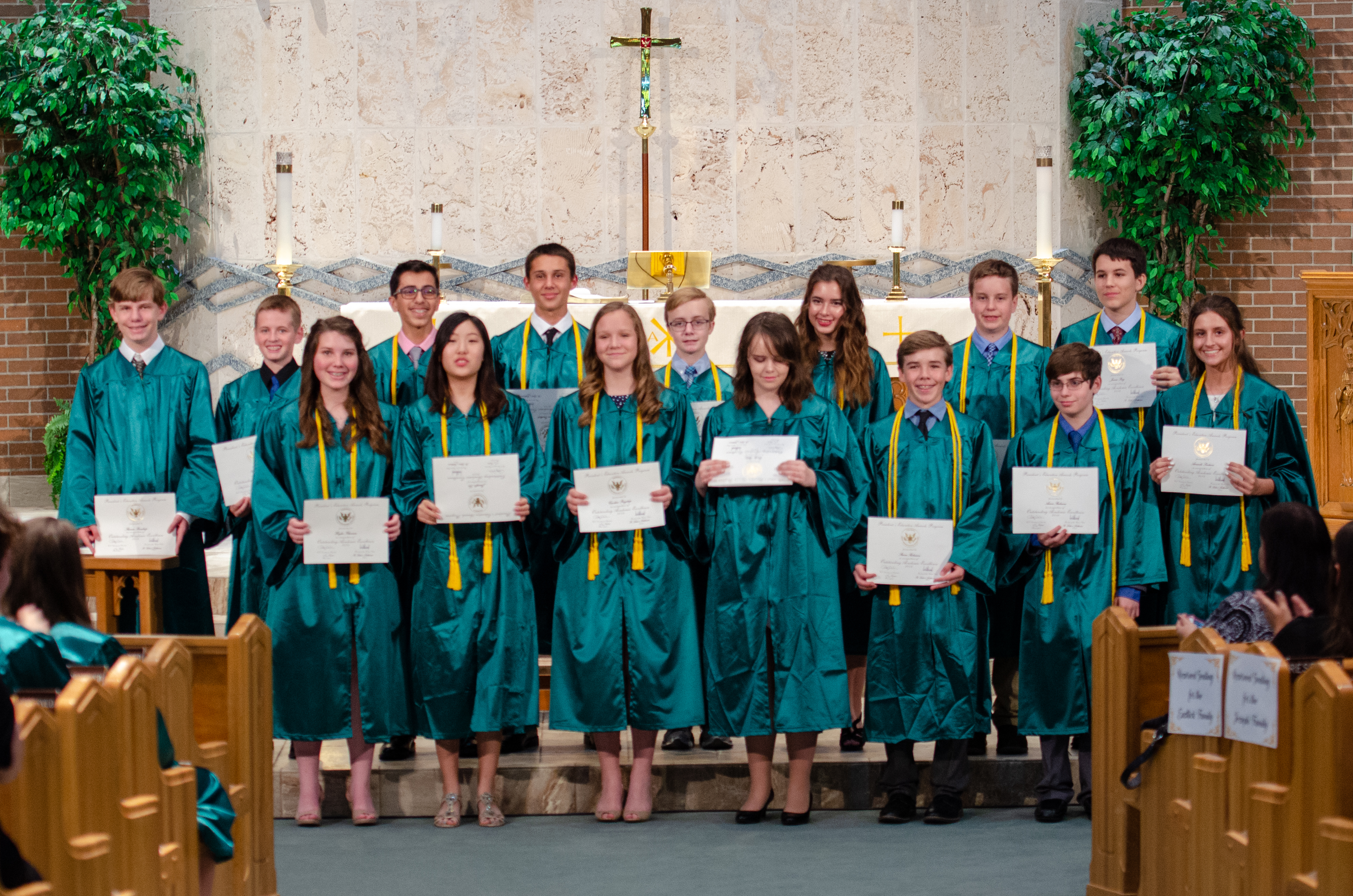 St. Luke's Graduating Class